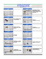 RPA Calendars 2018-19 – RPA MS 18-19