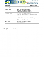 HS Quick Takes May 20-24, 2019
